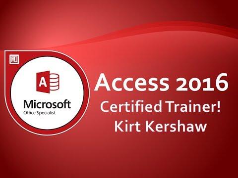Microsoft Access 2016 Reports: Charts