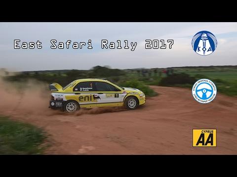 East Safari Rally 2017 Cyprus