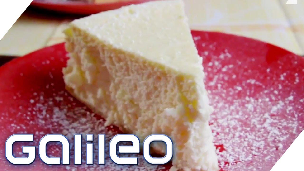 NY Cheesecake vs. deutscher Käsekuchen | Galileo | ProSieben