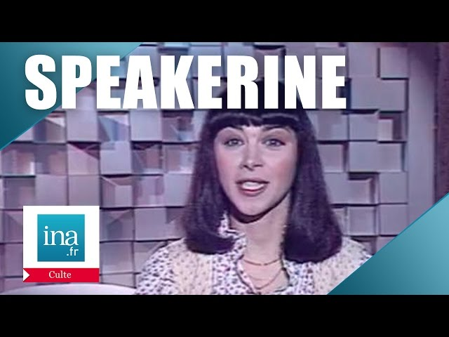 Speakerine 1978 Virginia Crespeau | Archive INA