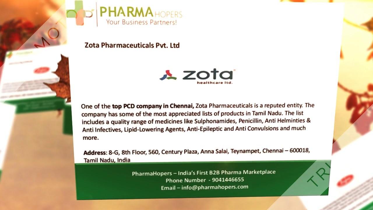 Top 10 PCD Pharma Companies in Chennai | Pharma Franchise