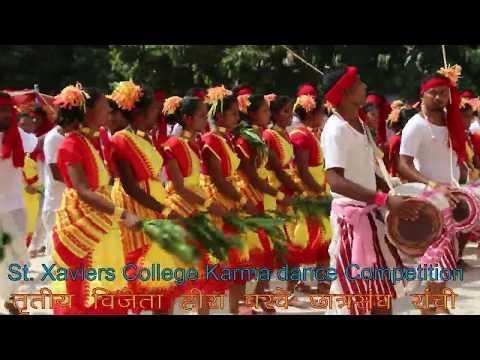 #st_xavier_college_karam_dance_compition_ranchi_2019-#kujur_academy