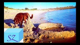 Как Построить Бассейн из Песка.
