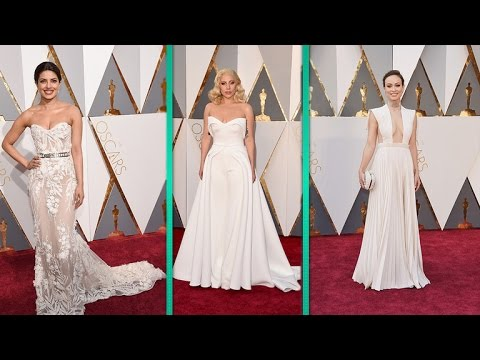 Oscars Red Carpet: Lady Gaga, Rooney Mara and More Rock White Gowns ...