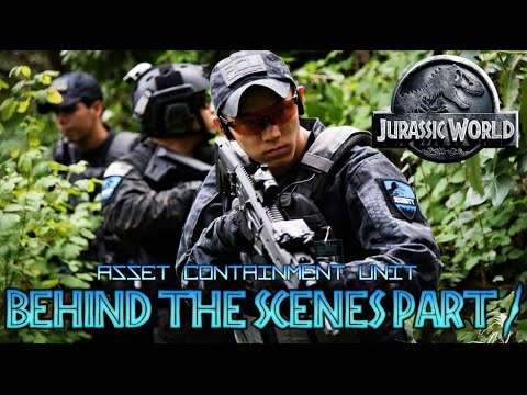 JURASSIC WORLD FAN FILM BEHIND THE SCENES PART 1 : ASSET CONTAINMENT UNIT