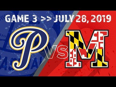 Big 26 Baseball Classic Game 3   July 28, 2019   FNB Field