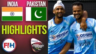 India v Pakistan | 2018 Men's Hockey Champions Trophy | HIGHLIGHTS