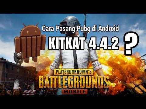 Viral.....! Totorial Cara Memasang Game PUBG Mobile Di Hp Android KitKat 4.4.2 •Ram 1Gb No Root 2019