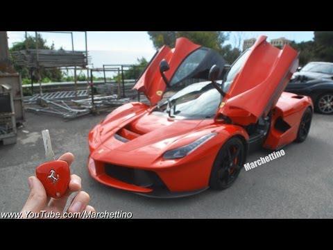 LaFerrari vs Ferrari Enzo Onboard - Engine Sound Comparison