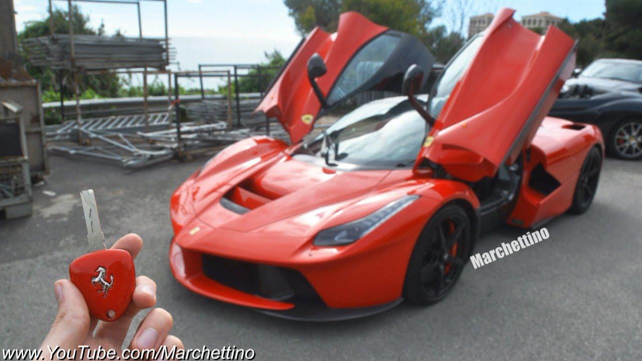 Laferrari Vs Ferrari Enzo Onboard Engine Sound