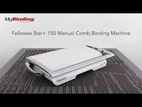Comb Binding 5006501 Fellowes Binding Machine Star