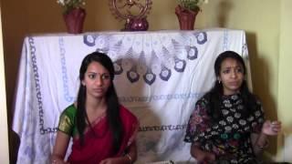 Budhavarapu Sisters Singing Ksheerabdhi Kanyakaku