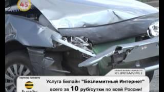 Авария в Заозерном. Видео от читательницы KURGAN.RU