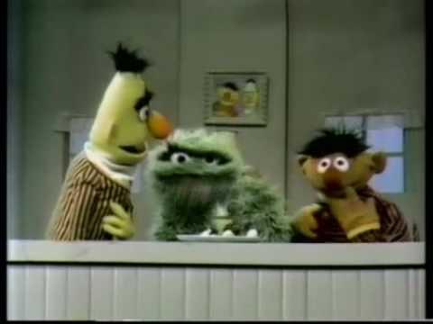 Sesame Street Ernie Bert Oscar Quot Chocolate Ice Cream