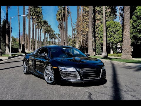 Picked Up An Audi R8 In Beverly Hills!