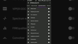 Viper4Android Fx Settings