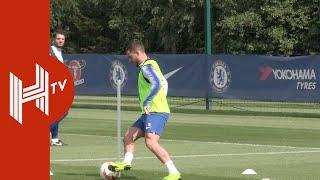 Chelsea train ahead of Europa League final!