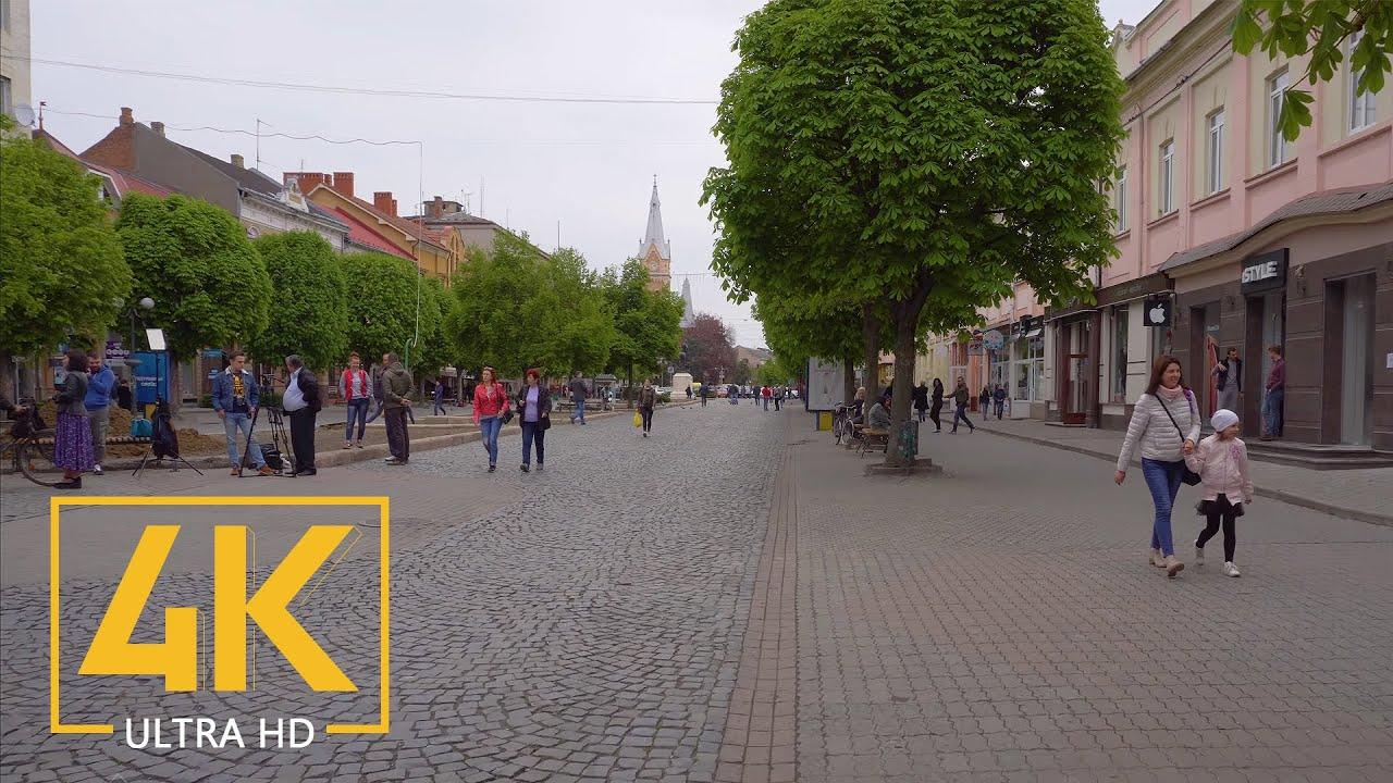 Mukachevo, Ukraine – 4K Metropolis Strolling Tour – Journey Journal