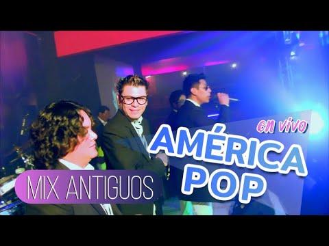 VIDEO: AMERICA POP - Mix Enganchados Antiguos ¡En Vivo! (Santa La Diabla) - VIENDO ES LA COSA