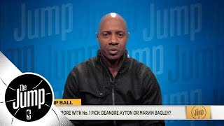 Jay Williams on who he trusts as No. 1 NBA draft pick and his NCAA champion pick | The Jump | ESPN