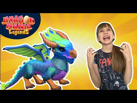 ★ Влада ПСИХУЕТ 🤬🤬🤬 и Дракон ПАВЛИН ★ 10# Легенды Дракономании игра про драконов