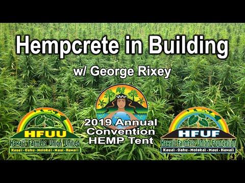 Hempcrete in Building w/ George Rixey