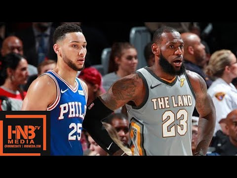 Cleveland Cavaliers vs Philadelphia Sixers Full Game Highlights / March 1 / 2017-18 NBA Season