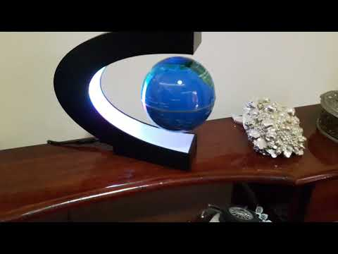 globe magnetic air rotary