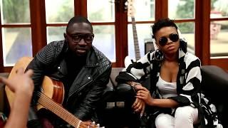 Sauti Sol and Chidinma meet producer Masterkraft