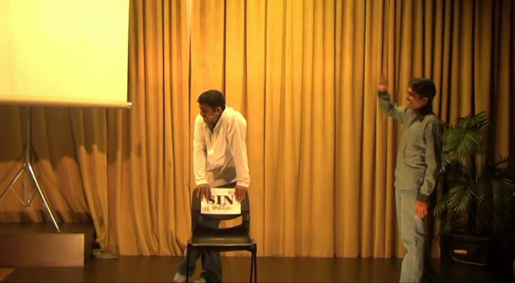 Sin Chair Skit in Telugu – Cornerstone Telugu Fellowship – Singapore