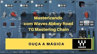 Abbey Road TG Mastering Chain Plugin: Synthwave Demo | Waves