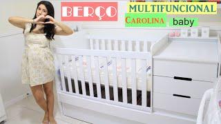 Berço Multifuncional Cléo Carolina Baby: resenha| Manu Peixinho