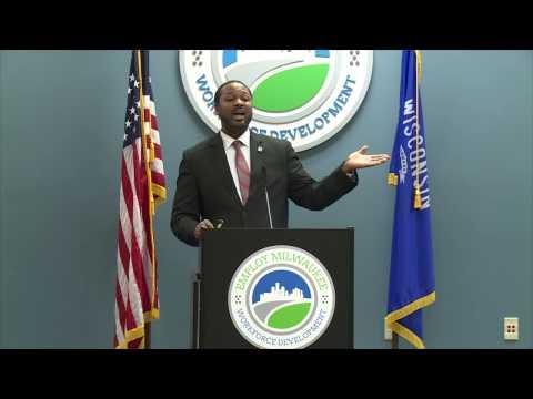 Council President Ashanti Hamilton Addresses Employ Milwaukee