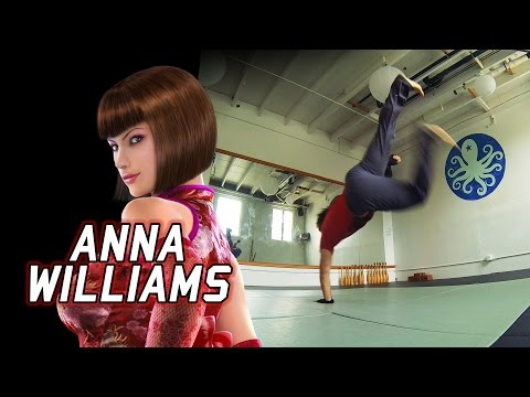 Real Life Tekken  Assassinating with ANNA WILLIAMS Eric Jacobus