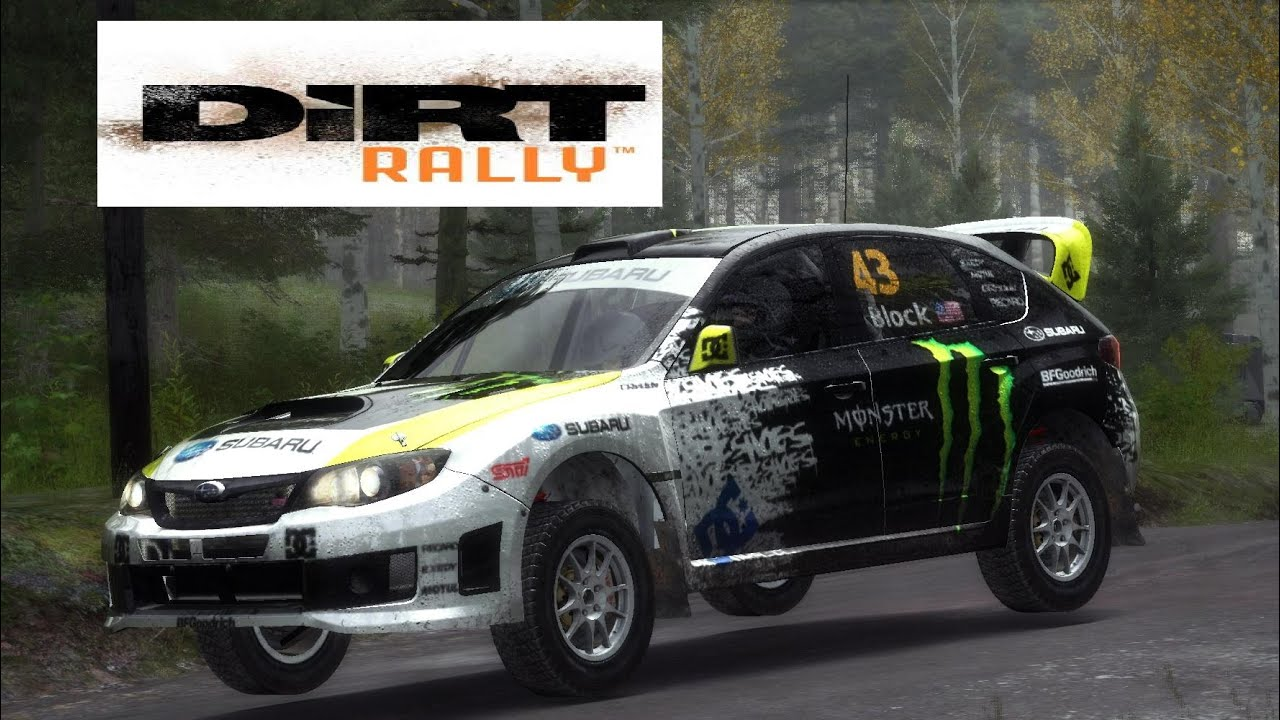 DIRT RALLY 2016 SUBARU IMPREZA WRX STI WRC Ken Block 43 NoggyLetsplay 32 PC  HD CZ   YouTube