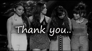 The Last 3 songs of 4th Impact and their final bow for X factor UK