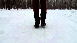 наряд для зимней прогулки/ Winter outfit of the day
