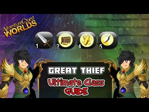 Ultimate Great Thief Class Guide Review Adventure Quest