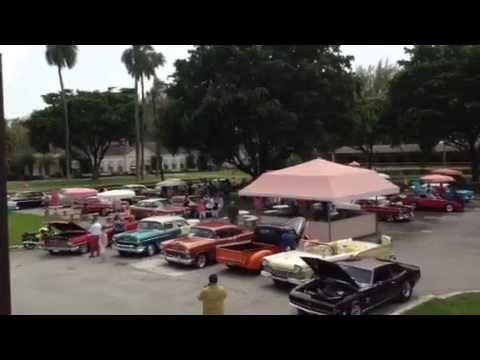 Antique Car Show Sunday, August 17 at Hialeah Park