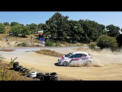 Rok Turk - Martina Lazar (Peugeot 208 R2) : 35. rally Sliven 2015 - best onboard moments