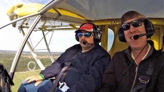Demo flight in the Zenith STOL CH 750 around the Sebring airport