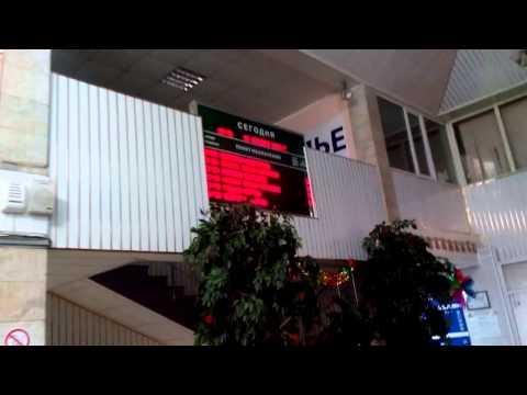 Максим Чечнев на автовокзале в Старом Осколе
