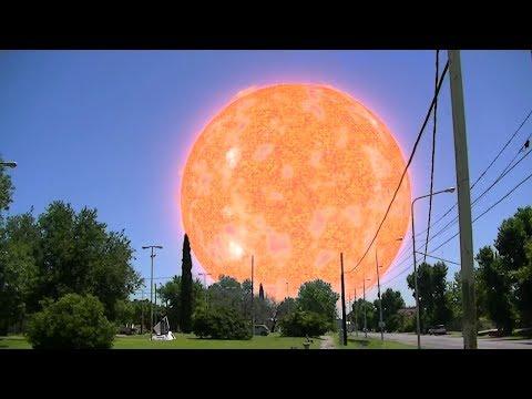 Cómo se verían algunas estrellas si estuvieran en lugar del Sol