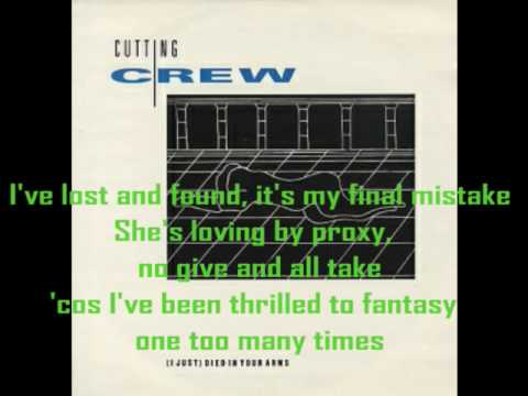 Cutting Crew - (I Just) Died In Your Arms Tonight with Lyrics