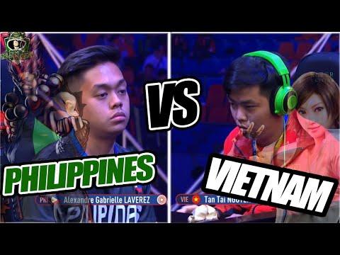 Tekken 7 SeaGames Philippines vs Vietnam