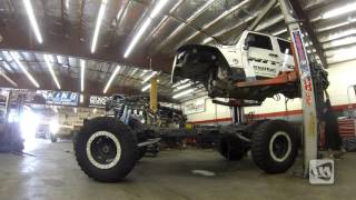 Let the SUPERSIZING Begin : Timelapse Video of an LS Motor Getting Installed in a Jeep JK Wrangler