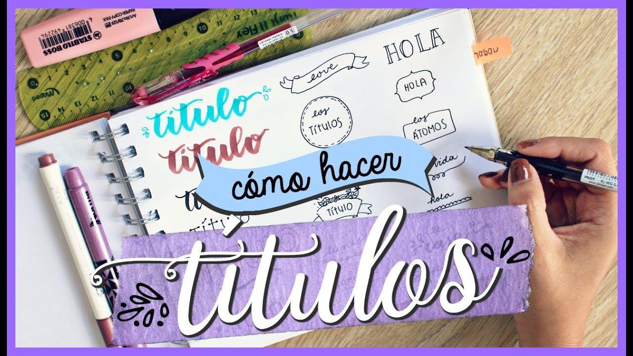 SORPRENDE CON ESTOS LOS TÍTULOS MÁS LINDOS ✨ | Valeria Basurco