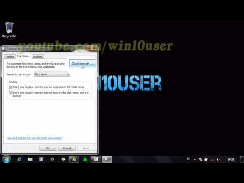 Windows 7 Tips : How To Enable Or Disable Sort All Programs Menu By Name