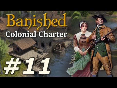 Banished: Colonial Charter (v1.71) - New Cardiff (Part 11)