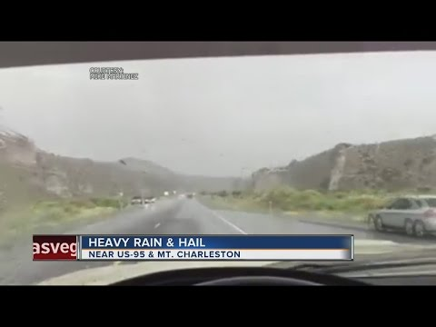 Rain arrives in Las Vegas valley